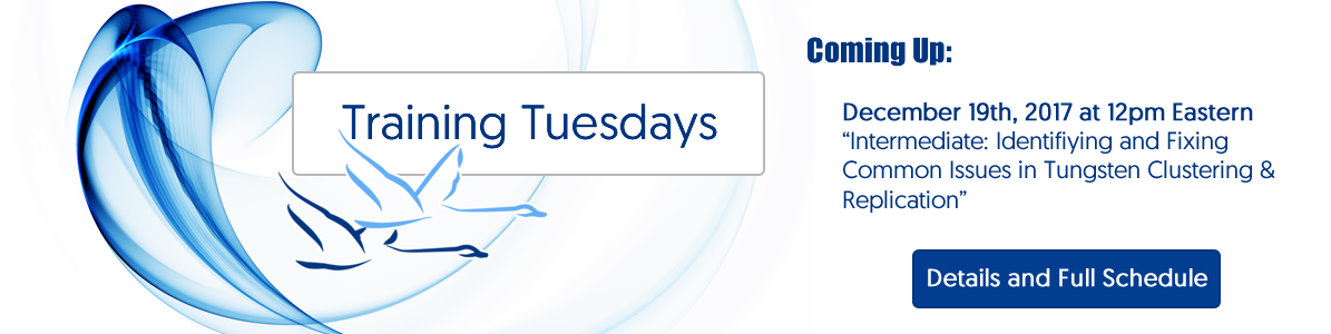 Training Tuesdays